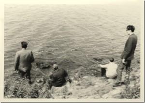 vissen groepje van Dennenrust in '68.